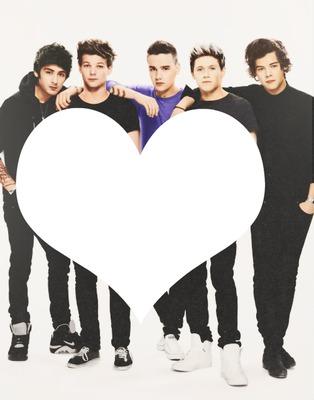 No coração dos One Direction