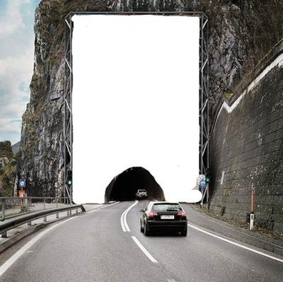 renewilly carro y tunel