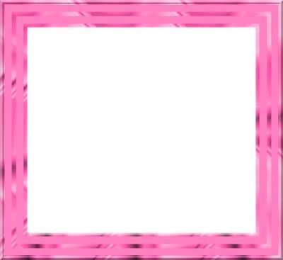 montage photo cadre rose fushia pixiz. Black Bedroom Furniture Sets. Home Design Ideas
