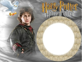 Moldura Harry Potter