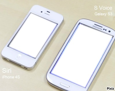 iphone 4s et samsung galaxy s3