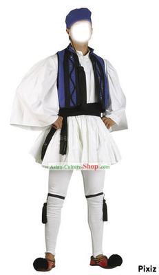 grec en costume traditionnel
