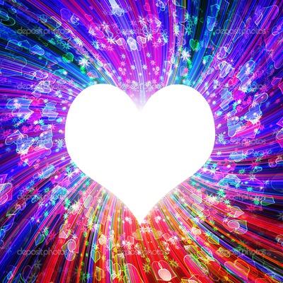 stralend  hart