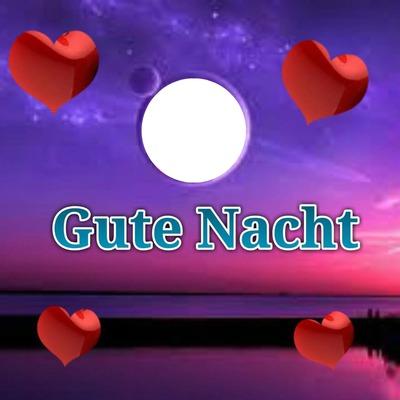Fotomontazh Gute Nacht Pixiz