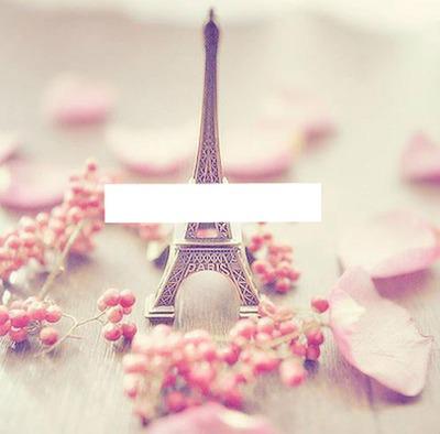 Tour Eiffel+texte perso