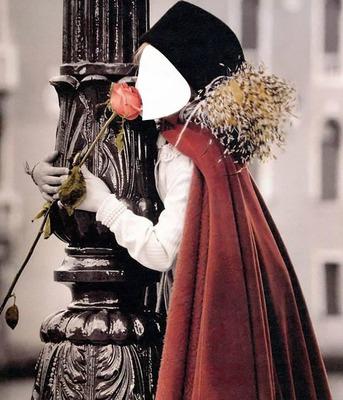 petite fille a la rose