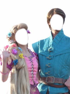 Raiponce montages photo p 1 2 pixiz - Raiponce et son prince ...