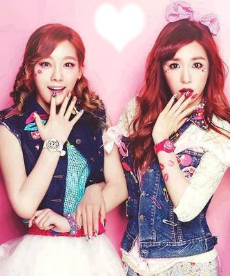 SNSD Tae Yeon And Tiffany (TaeNy)