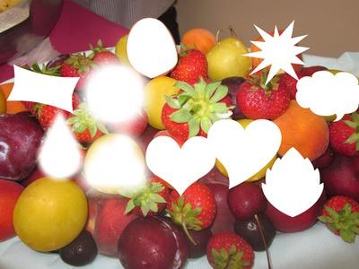 ma corbeille de fruits