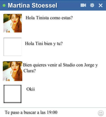 Chat Falso con Tini Stoessel