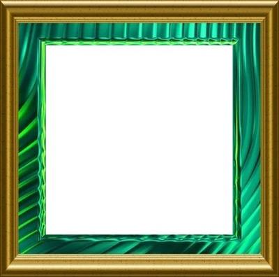 QUADRO - Clássico Fundo Verde