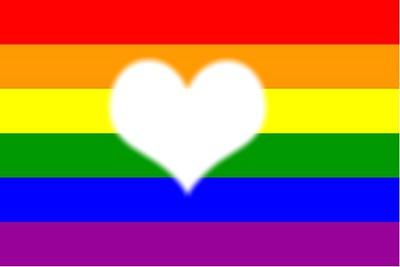 montage photo drapeau gay pride pixiz. Black Bedroom Furniture Sets. Home Design Ideas