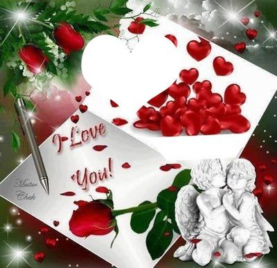 livre d'amour 2 photos