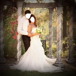 Montage photo marriage avec photoshop online