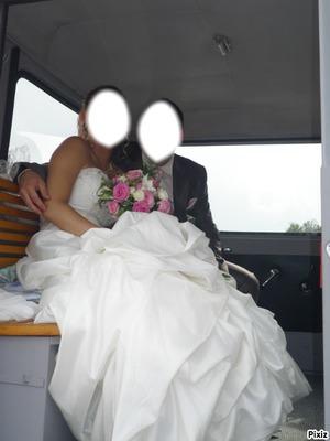 visage de mariés