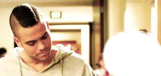 Mark Salling looking at you