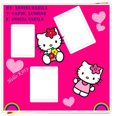 Frame Hello Kitty