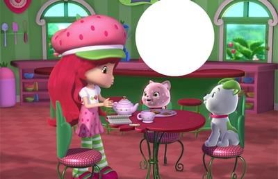 Fraisinette Charlotte aux fraises