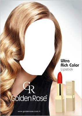 Golden Rose Ultra Rich Color Lipstick Advertising