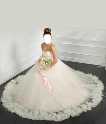 18905 2017 Vente Chaude Robe De Bal Tulle Robes De Mariée Turquie Cour Train Puffy Gothique Appliqued Mariée Robes Manches Scintillant 2016 Dans
