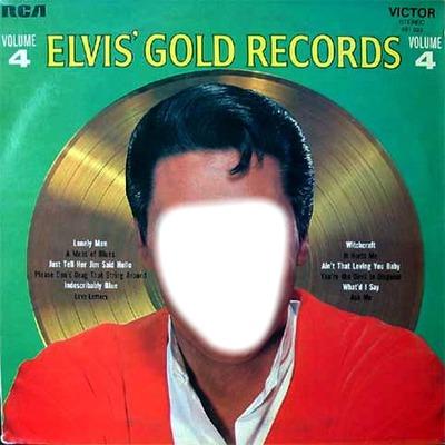 Elvis gold records 4