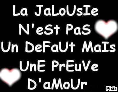 le jalousie