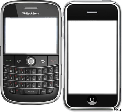 iphone blackberry =)