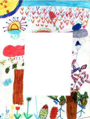 dessin d'enfant -1 photo
