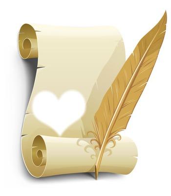 pergamena papier love
