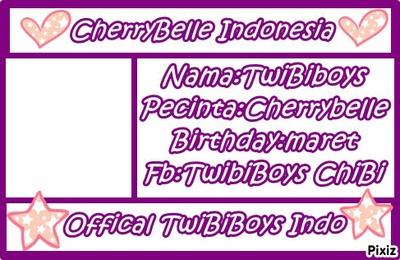 Id Card Versi TwiBiBoys ChiBi