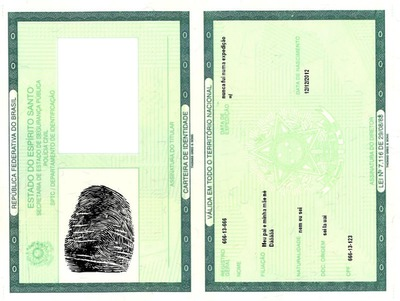 Fotomontagem Carteira Da Identidade Pixiz