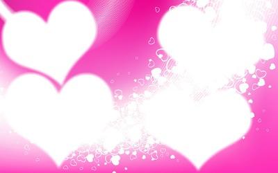 coeur 4 photos