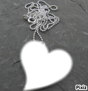 coeur collier