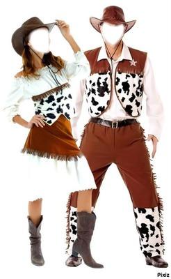 couple cow boy