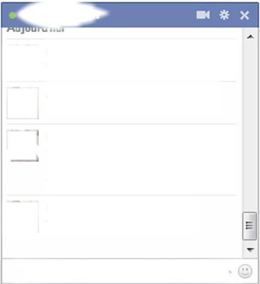 Facebook (crée tes conversation sur un autre site)