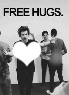 hugs harry