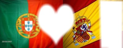 drapeau espagnol portugais