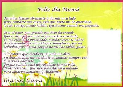 Montaje Fotografico Feliz Dia Mama Pixiz