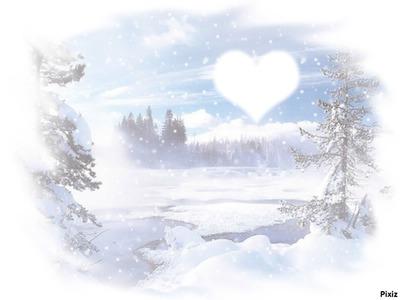 Avoir le coeur dans la neige