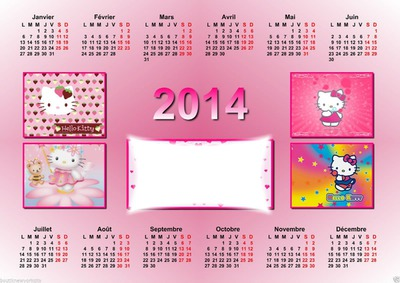 calendrier Hello Kitty