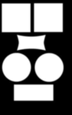 Pêle mêle simple fond noir