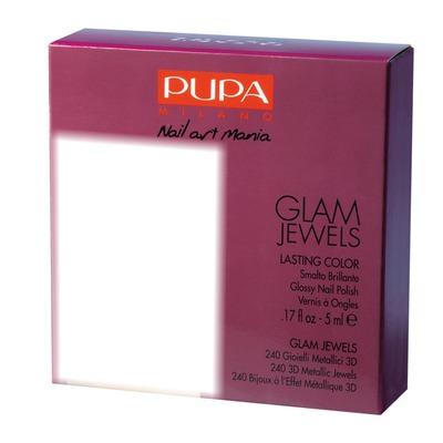 Pupa Glam Jewels Nail Art Kit Burgundy