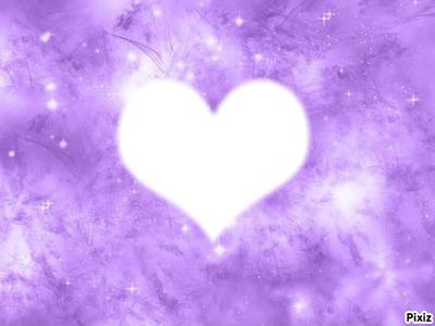 Visage dans un coeur