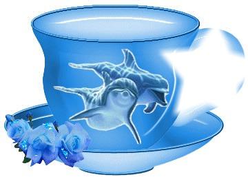 tasse de dauphin