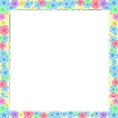 Cuadro de flores 1 foto