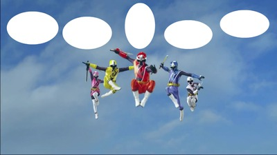 Montage Photo Power Rangers Ninja Steel 5 Photos Pixiz