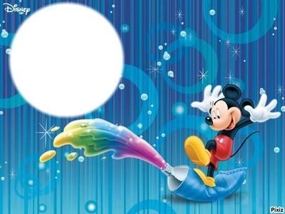 Montaje fotografico mickey mouse - Pixiz
