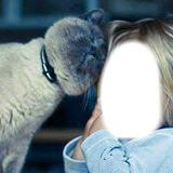 fille et chat