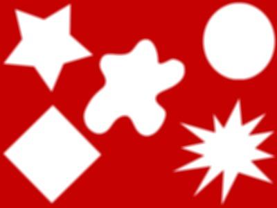 cadre 5 formes