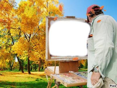 peintre automnal